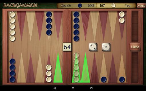 Backgammon Free 17 تصوير الشاشة