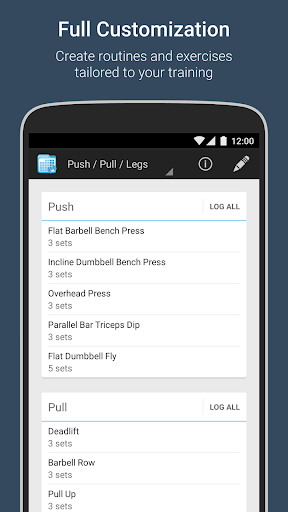 FitNotes - Gym Workout Log 7 تصوير الشاشة