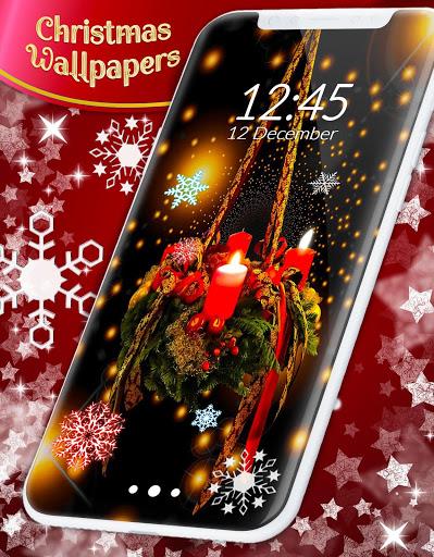 Christmas Wallpapers 🎅 Xmas Tree Live Wallpaper 7 تصوير الشاشة