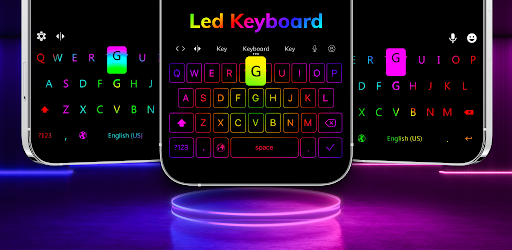 LED Lighting Keyboard - Emojis, Fonts, GIF screenshot 9