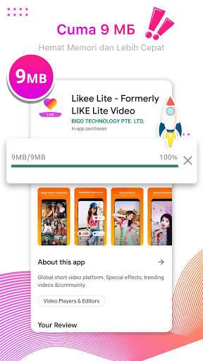 Likee Lite - Saatnya Kamu Bersinar screenshot 1