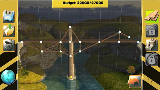 Bridge Constructor FREE screenshot 2