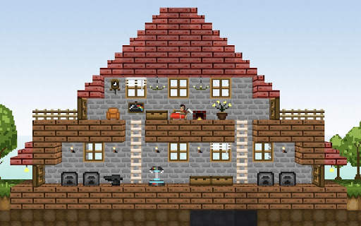 LostMiner: Block Building & Craft Game 10 تصوير الشاشة