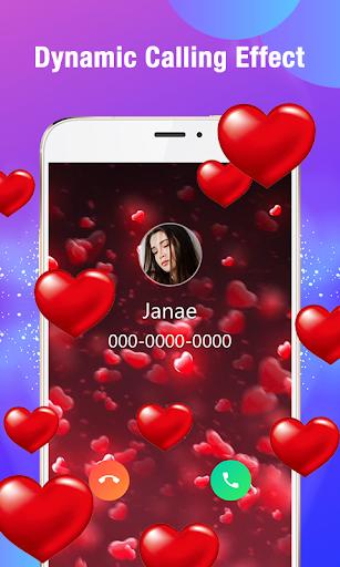 Call Flash - Color Phone Caller Screen, LED Flash 1 تصوير الشاشة