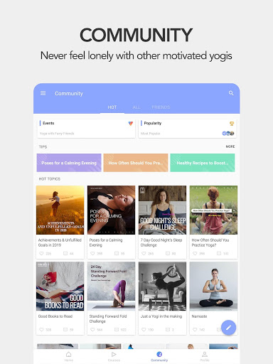 Daily Yoga - Yoga Fitness Plans 13 تصوير الشاشة