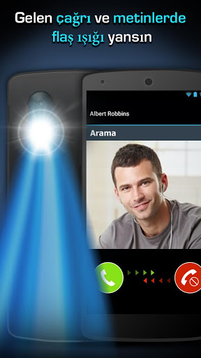 Flaş LED'i - Çağrı, SMS'e screenshot 1
