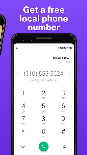TextNow: Free Texting & Calling App 3 تصوير الشاشة