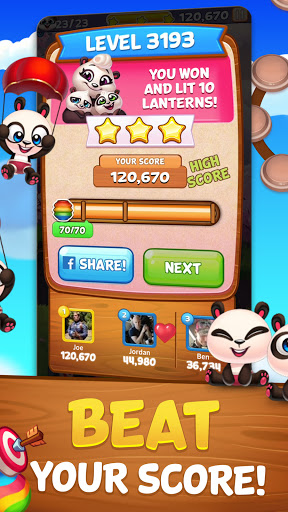 Bubble Shooter: Panda Pop! 5 تصوير الشاشة