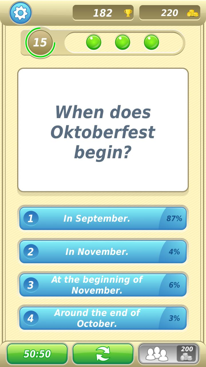 German Trivia Quiz 3 تصوير الشاشة