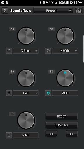 jetAudio HD Music Player 7 تصوير الشاشة