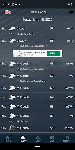 KXLY Weather 3 تصوير الشاشة