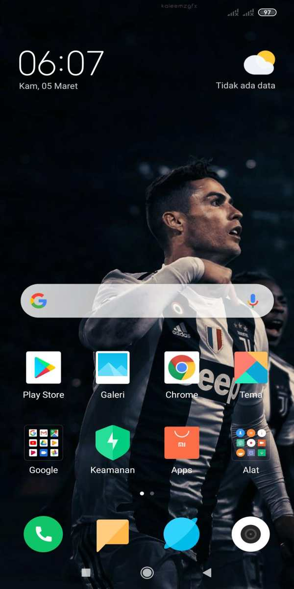 Ronaldo Wallpaper HD 3 تصوير الشاشة