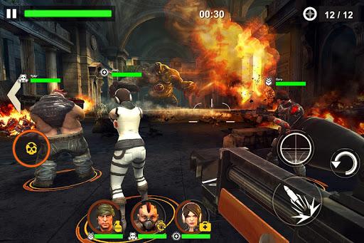 حرب الموت:  قتل الزومبيز 4 تصوير الشاشة