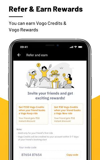 VOGO -Scooter & Bike Rental App | Rent.Ride.Return 5 تصوير الشاشة