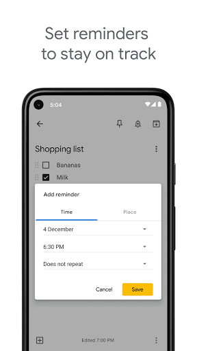 Google Keep - Notes and Lists screenshot 6
