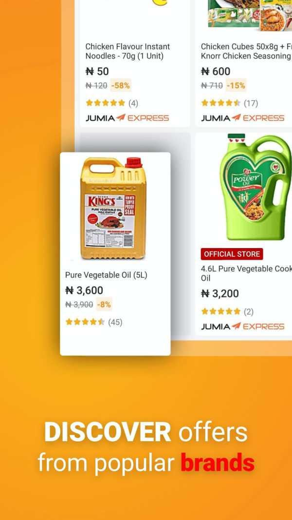JUMIA Online Shopping 4 تصوير الشاشة