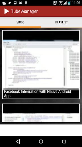 Vid Manager 1.1 3 تصوير الشاشة