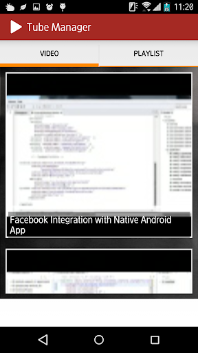 Vid Manager 1.1 screenshot 3