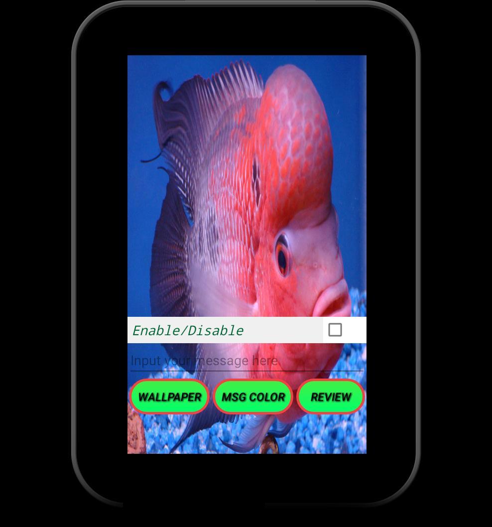Flowerhorn Fish Special Live Wallpaper 9 تصوير الشاشة