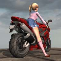 Motorcycle Girl on 9Apps