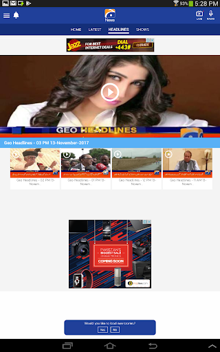 Geo News screenshot 9