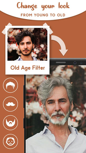 Old Age Face effects App: Face Changer Gender Swap screenshot 6