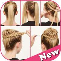 Girl Hair Style Step by Step on 9Apps