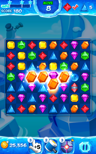 Jewel Pop Mania:Match 3 Puzzle 3 تصوير الشاشة