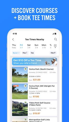 Golf GPS 18Birdies Scorecard & Yardage Rangefinder screenshot 7