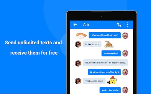 TextFun : Free Texting & Calling screenshot 11