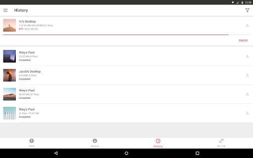 Send Anywhere (File Transfer) screenshot 9