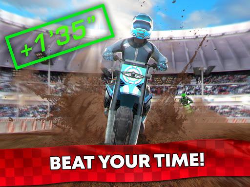 Free Motor Bike Racing - Fast Offroad Driving Game screenshot 14