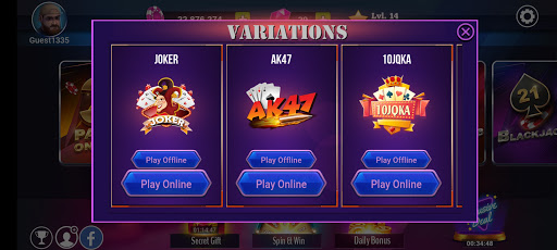 Teen Patti Royal - 3 Patti Online & Offline Game 4 تصوير الشاشة