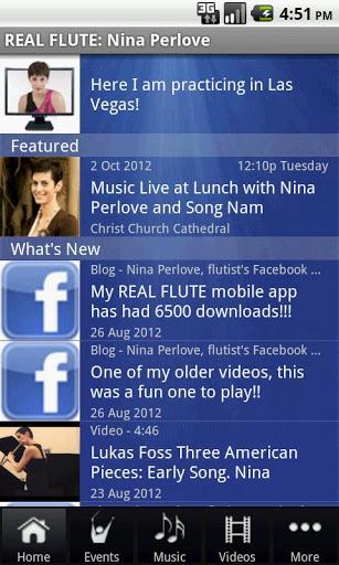 REAL FLUTE: Nina Perlove screenshot 1