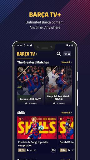 FC Barcelona Official App 3 تصوير الشاشة