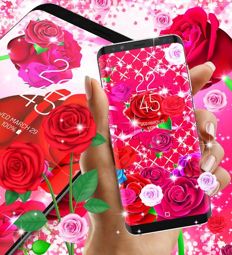 2021 Roses live wallpaper screenshot 3