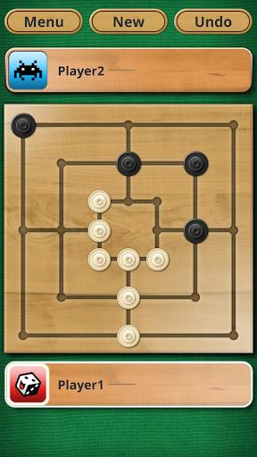 Nine men's Morris - Mills - Free online board game 3 تصوير الشاشة