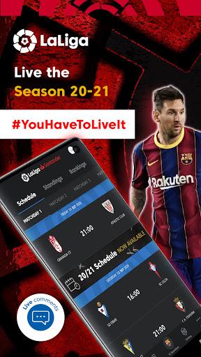 La Liga Official App - Live Soccer Scores & Stats स्क्रीनशॉट 1