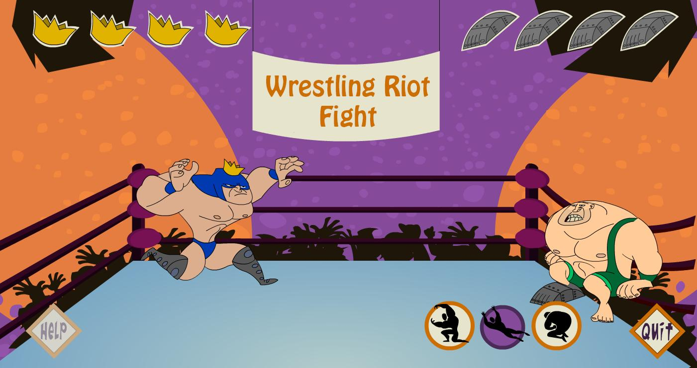 Wrestling Riot Fight 5 تصوير الشاشة
