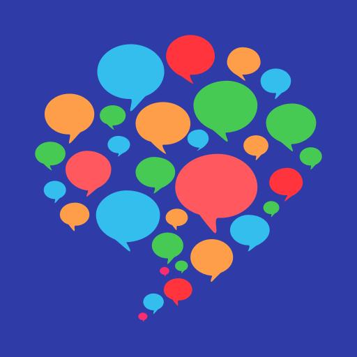 HelloTalk - الدردشة والتحدث وتعلم اللغات الأجنبية أيقونة