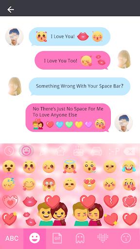 Emoji Love Stickers for Chatting Apps(Add Sticker) 1 تصوير الشاشة