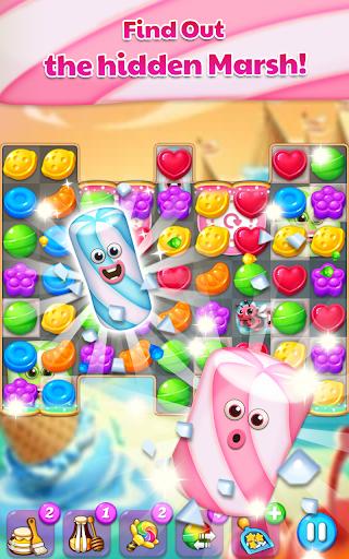 Lollipop & Marshmallow Match3 1 تصوير الشاشة