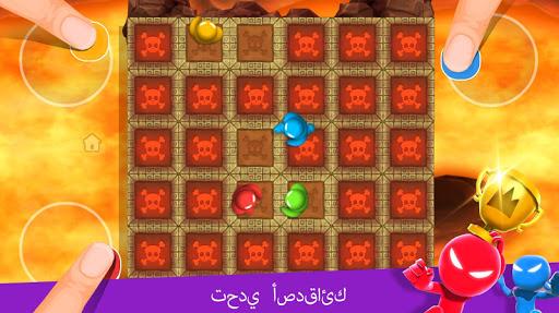 Stickman Party: 1 2 3 4 ألعاب ألعاب مجانية 4 تصوير الشاشة