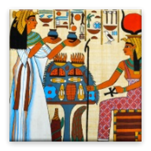 Horoscope and Tarot Egyptian icon