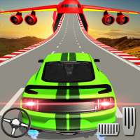 US Muscle car stunts 3D mega ramp car: impossible on 9Apps