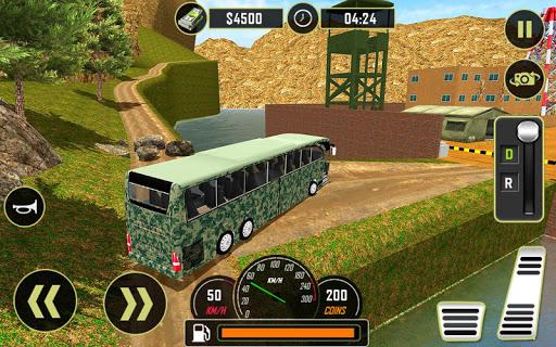 Army Bus Driver 2021:Real Military Coach Simulator screenshot 19
