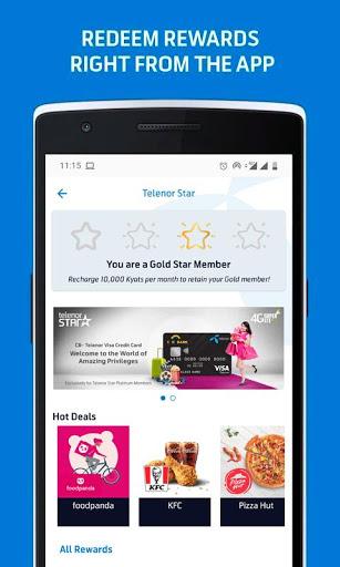MyTelenor 4 تصوير الشاشة