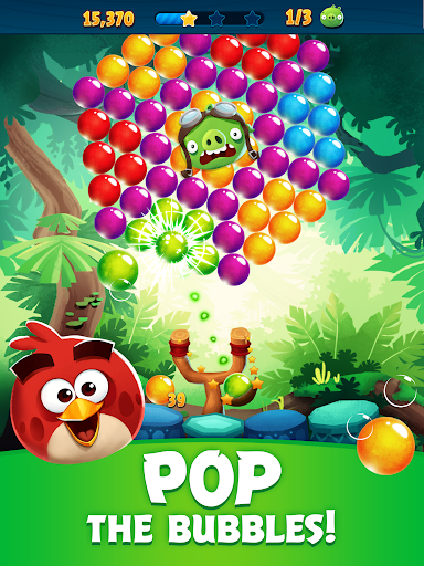 Angry Birds POP Bubble Shooter 6 تصوير الشاشة