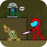 Red Stickman : Animation vs Stickman Fighting on 9Apps