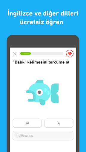 Duolingo'yla Bedava İngilizce screenshot 3